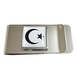 Islamic Flag Pendant Money Clip